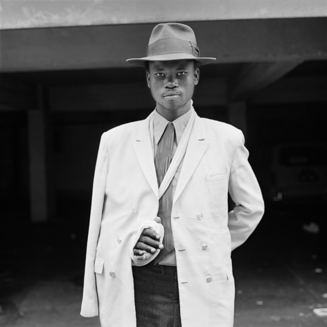David Goldblatt. 'Man with an injured arm. Hillbrow, Johannesburg, June, 1972' 1972