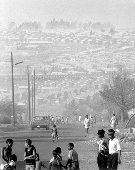 David Goldblatt. 'Mofolo South, Soweto, September 1972' 1972