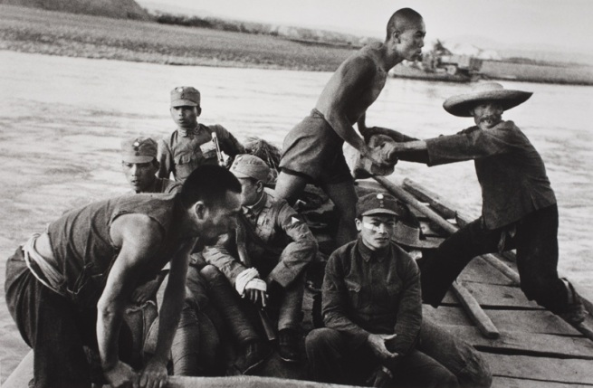 Robert Capa. 'Near Zhengzhou, June-July 1938' 1938