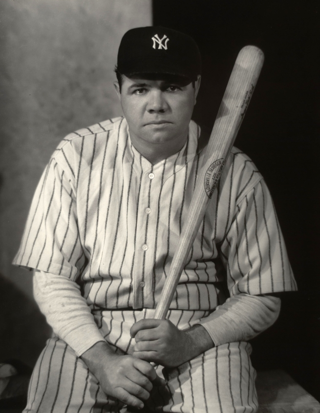Nikolas Muray(American, 1892-1965) 'Babe Ruth' 1945