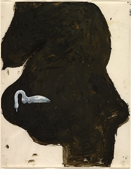 Joseph Beuys. 'Pregnant Woman with Swan' 1959