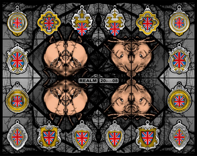 Gilbert & George. 'REALM' 2008