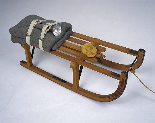 Jospeph Beuys. 'Sled' 1969