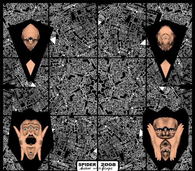Gilbert & George. 'SPIDER' 2008