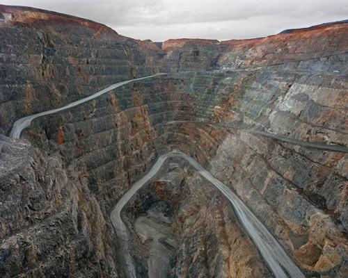 Edward Burtynsky. 'Super Pit #1, Kalgoorlie, Western Australia' 2007