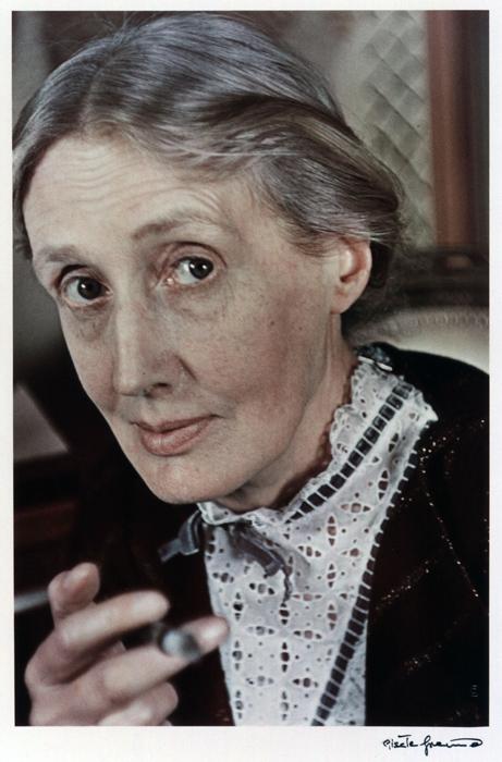 portrait of Virginia Woolf