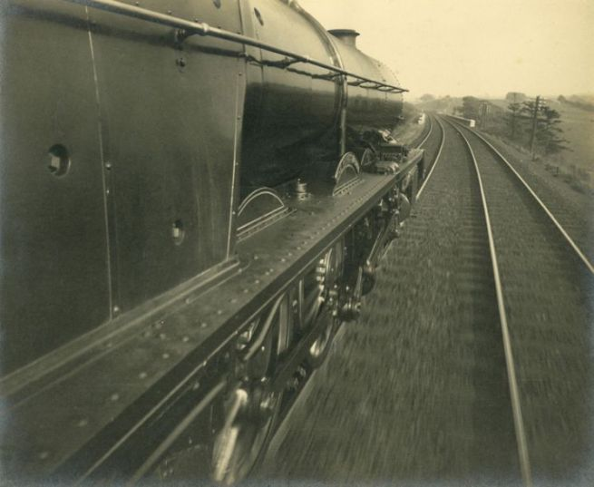 Anonymous. 'United Kingdom Train' c.1930