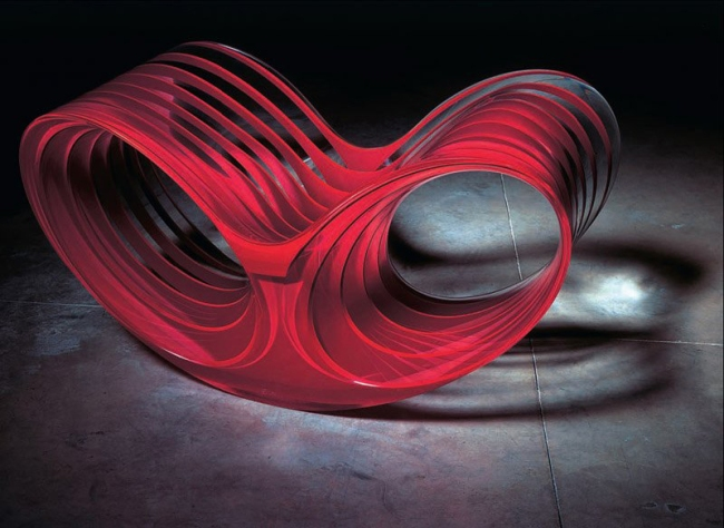 Ron Arad (British-Israeli, b. 1951) 'Oh Void 2 armchair' 2006