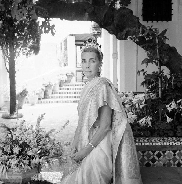 Cecil Beaton. 'Barbara Hutton in Tangier, Morocco' 1961