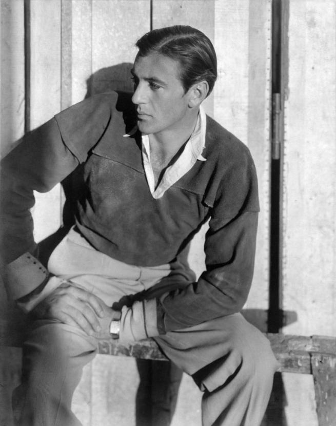 Cecil Beaton (British, (1904-1980) 'Gary Cooper' 1931