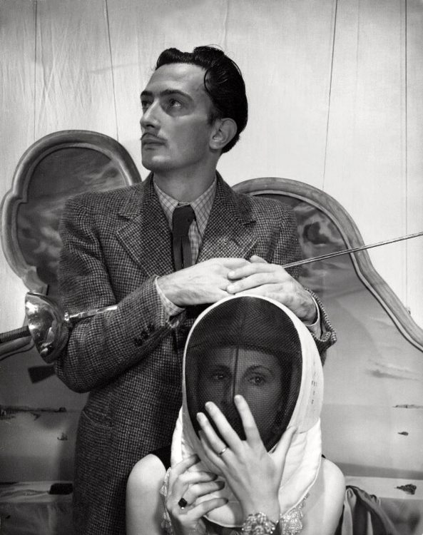 Cecil Beaton (British, (1904-1980) 'Salvador Dali and Gala' 1936