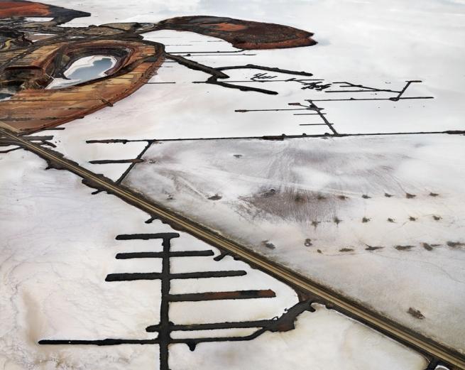 Edward Burtynsky. 'Silver Lake Operations #16, Lake Lefroy, Western Australia' 2007