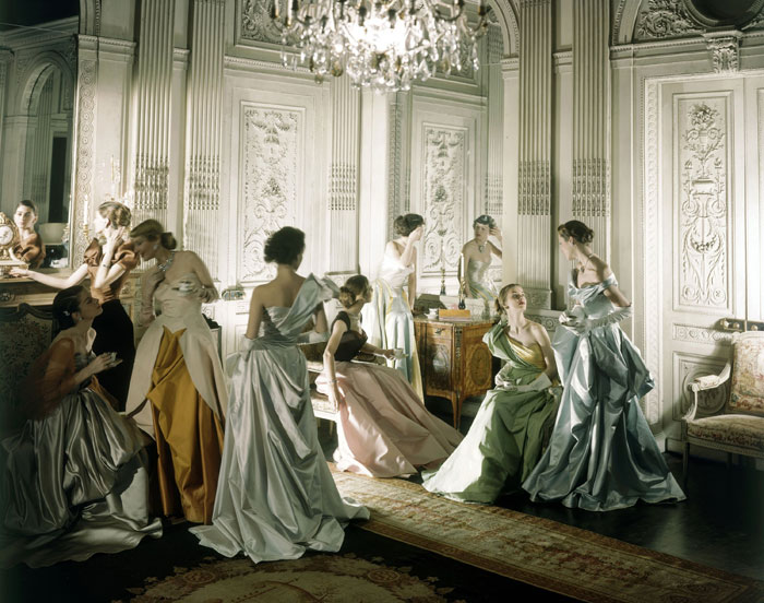 Cecil Beaton. 'Charles James Gowns by Cecil Beaton, Vogue, June 1948' 1948