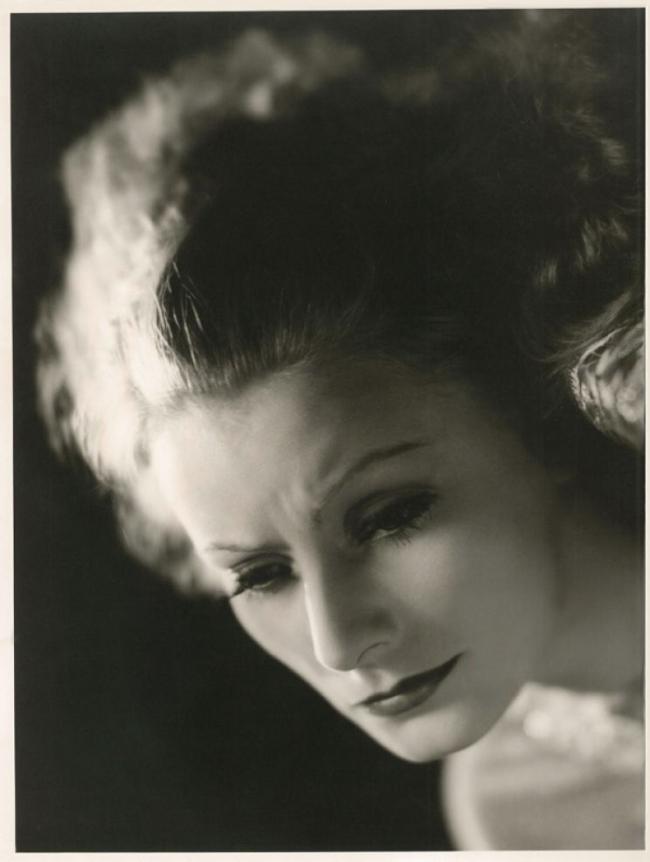 Clarence Sinclair Bull (American, 1896-1979) 'Greta Garbo' c. 1935