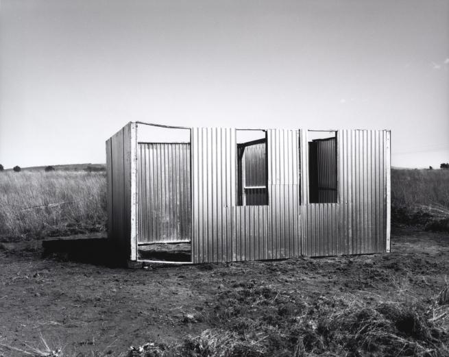 David Goldblatt. 'A new shack under construction, Lenasia Extension 9, Gauteng' 1990