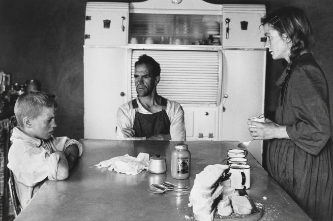 David Goldblatt (South African, 1930-2018) 'Family at Lunch, Wheatlands Plots, Randfontein, September 1962' 1962
