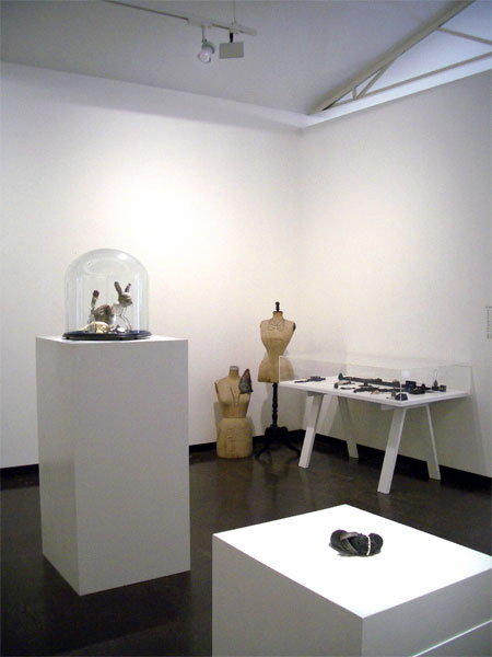 Julia de Ville 'Cineraria' installation view at Sophie Gannon Gallery, Melbourne