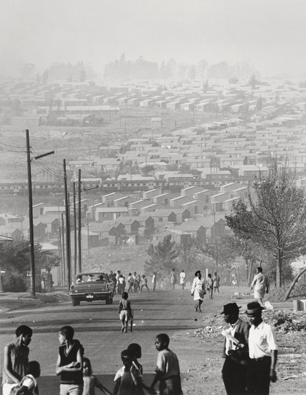 David Goldblatt (South African, 1930-2018) 'Mofolo South, Soweto, September 1972' 1972