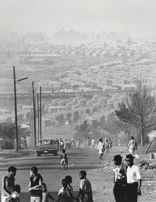 David Goldblatt(South African, 1930-2018) 'Mofolo South, Soweto, September 1972' 1972
