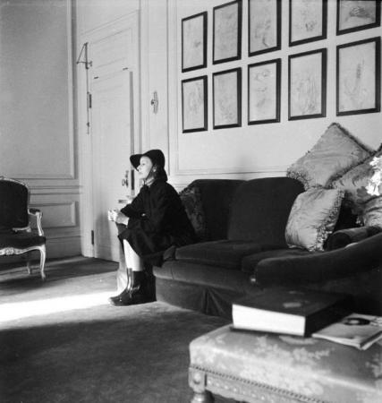 Cecil Beaton. 'Greta Garbo, Plaza Hotel, New York, April 1946' 1946