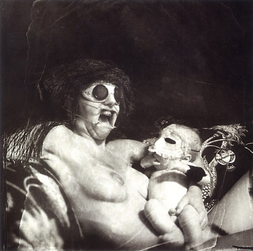 Joel Peter-Witkin. 'Mother and Child (with Retractor, Screaming)' 1979