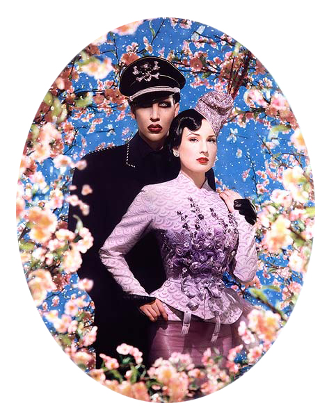 Pierre et Gilles. 'Le Grand Amour' (Marilyn Manson and Dita von Teese) 2004