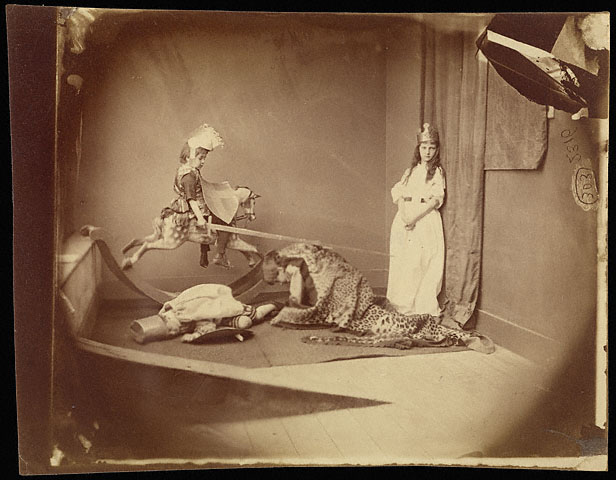 Lewis Carroll. 'Saint George and the Dragon' June 26, 1875