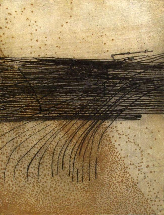 Sarah Amos. 'Lute' 2009