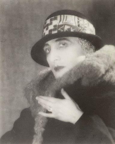 Man Ray. 'Rrose Sélavy (Marcel Duchamp)' 1923