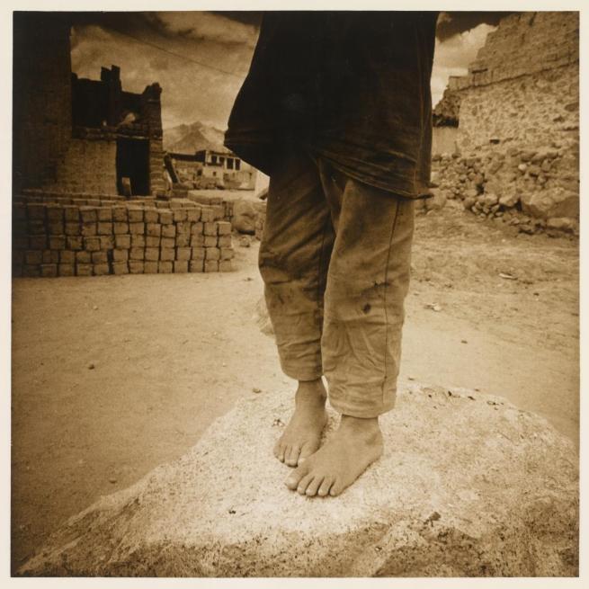 Max Pam (Australian, b. 1949) 'Feet, Thiksè, Ladakh' 1977