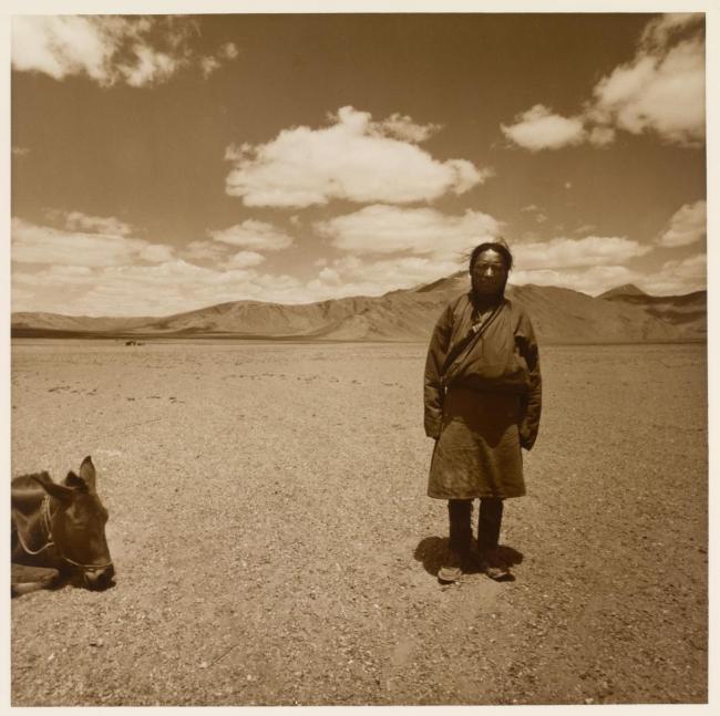 Max Pam (Australian, b. 1949) 'Tibetan man' 1977