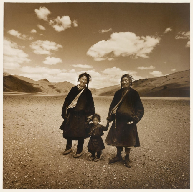 Max Pam (Australian, b. 1949) 'Tibetan nomads' 1977