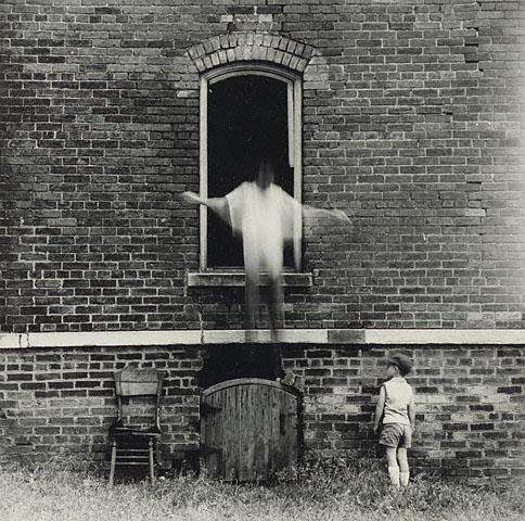 Ralph Eugene Meatyard. 'Untitled (Michael and Christopher Meatyard)' 1966
