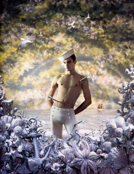 Pierre et Gilles. 'St. Sebastian of the Sea' 1994