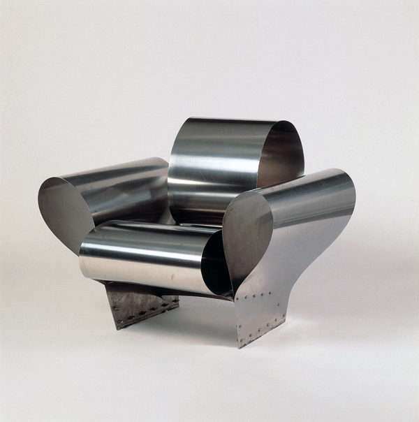 Ron Arad. 'Well Tempered Chair' Prototype 1986