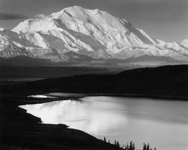 Ansel Adams, Mount McKinley, Alaska, 1948