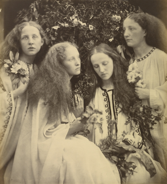 Julia Margaret Cameron (British, born India, 1815-1879) 'The Rosebud Garden of Girls' June 1868