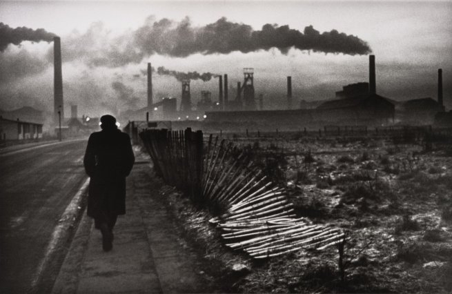 Don McCullin (British, b. 1935) 'Early morning, Steel Foundry, West Hartlepool, County Durham, U.K.' 1963