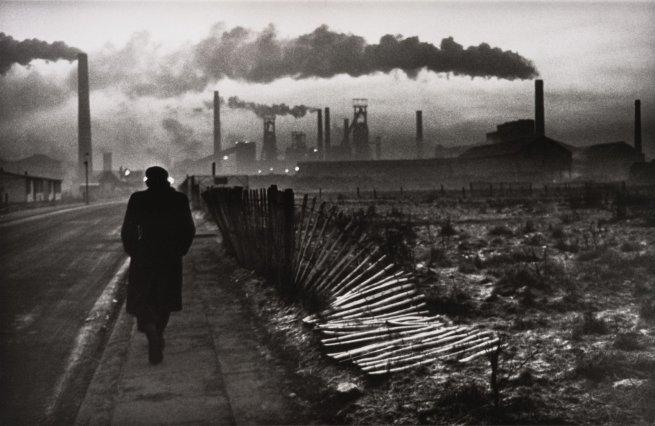 Don McCullin(British, b. 1935) 'Early morning, Steel Foundry, West Hartlepool, County Durham, U.K.' 1963