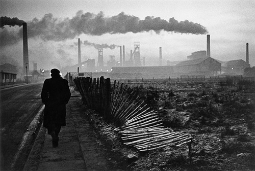 Don McCullin. 'Early morning, West Hartlepool, County Durham, U.K.,' 1963
