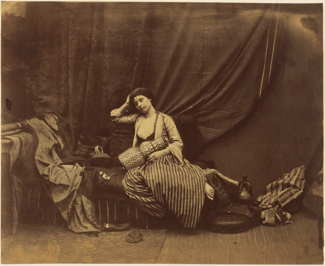 Roger Fenton (English, 1819-1869) 'Contemplative Odalisque' 1858