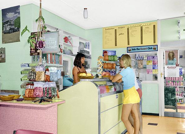 Tracey Moffat. 'First Jobs, Corner Store' 1977