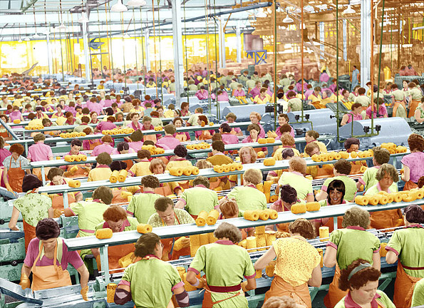 Tracey Moffat. 'First Jobs, Pineapple Cannery' 1978