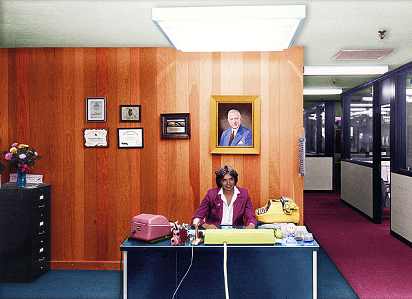 tracey Moffat. First Jobs, Receptionist 1977
