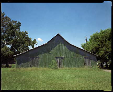 William Christenberry. 'Green Warehouse, Newbern, Alabama' 1997