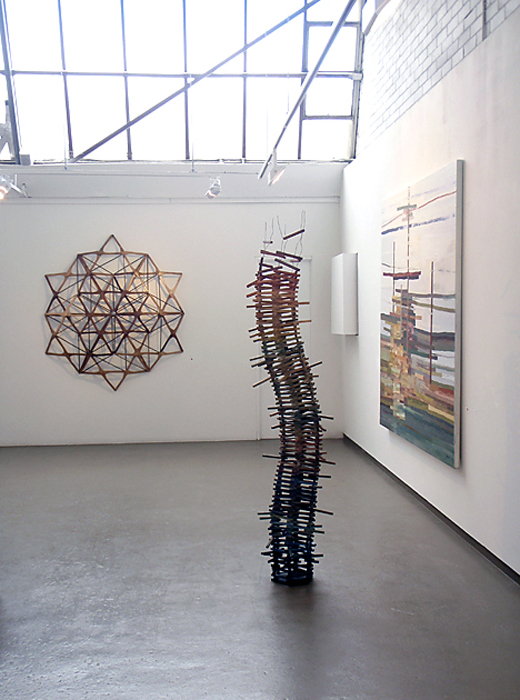 Installation view of Lyndal Hargrave exhibition at Anita Traverso Gallery, Melbourne