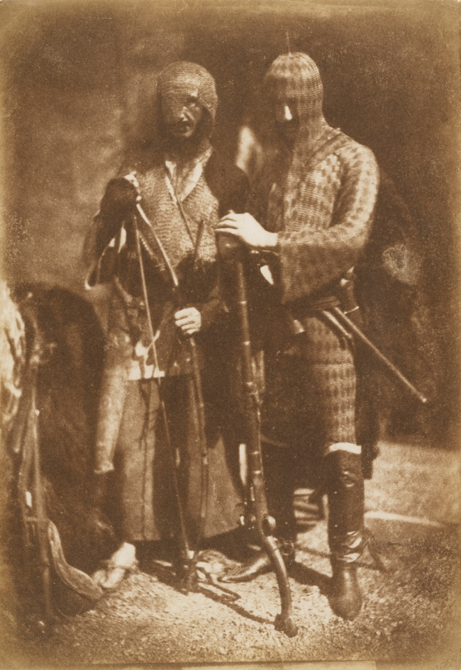 Hill & Adamson (Scottish, active 1843-1848) '[Lane and Peddie as Afghans]' 1843