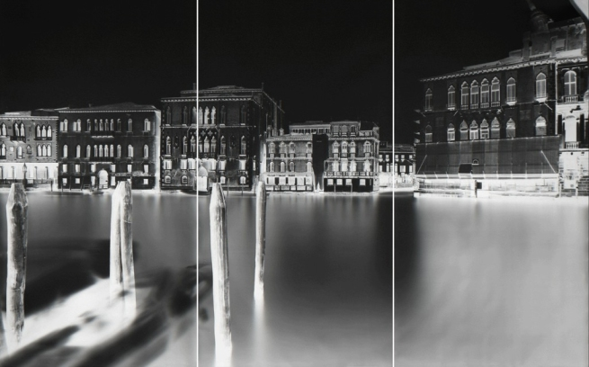 Vera Lutter. 'Ca Del Duca Sforza, Venice II: January 13-14, 2008' 2008