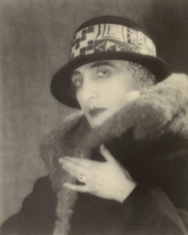 Man Ray(American, 1890-1976) 'Rrose Sélavy (Marcel Duchamp)' 1923