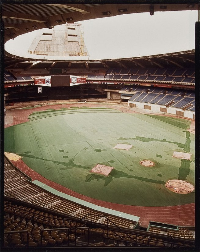 Jim Dow. 'Olympic Stadium, Montreal' 1982
